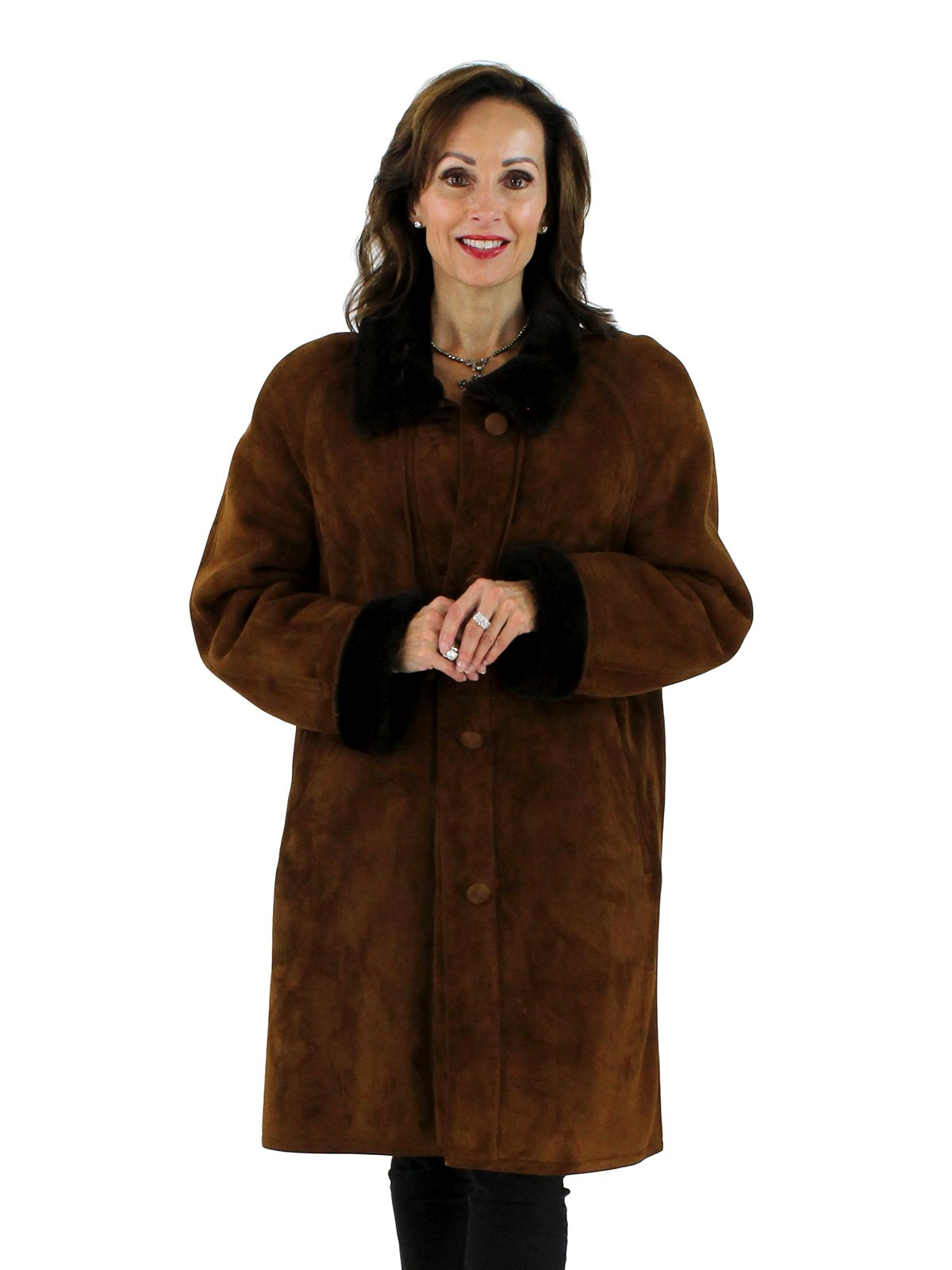 Christia Light Brown Shearling