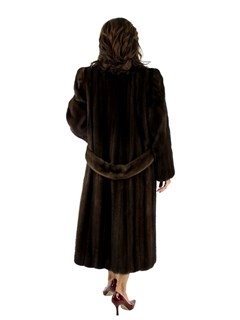 Mahogany Female Mink Coat
