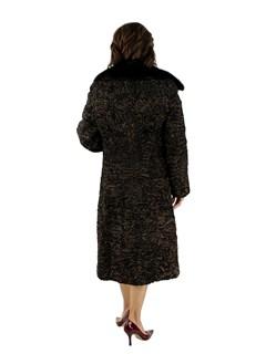 Woman's Brown Persian Lamb Coat