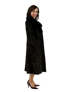 Brown Persian Lamb Coat