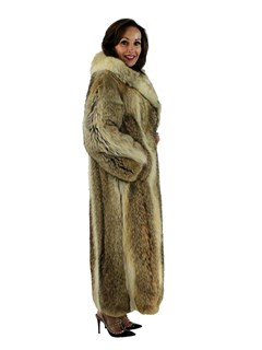 Natural Coyote Fur Coat