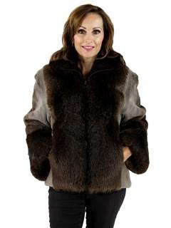 Phantom Sheared Beaver Jacket