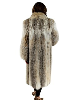 Canadian Lynx Fur Coat