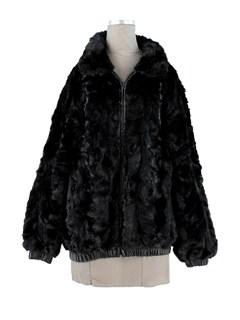 Man's Section Ranch Mink Fur Jacket