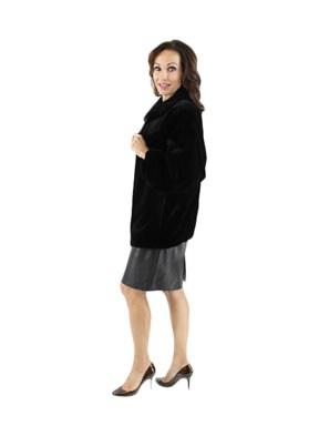 Sheared Mink Fur Jacket