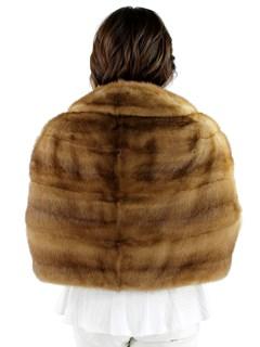 Woman's Pastel Mink Fur Stole