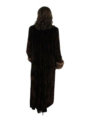Crushed Velvet Coat