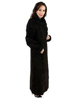 Woman's Swakara Lamb Coat