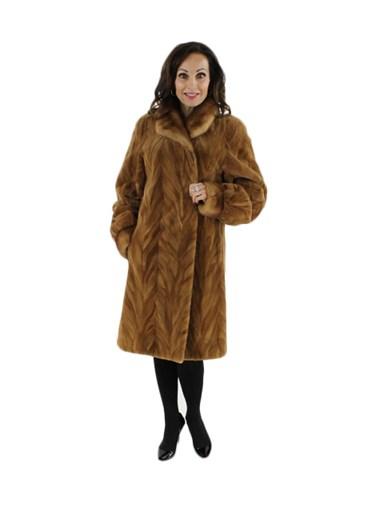 Sheared Mink Fur Section