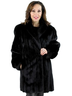 Woman's Ranch Female Mink Fur Stroller