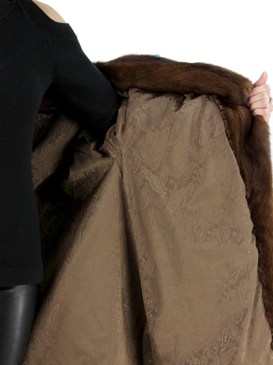 Demibuff Female Mink Jacket