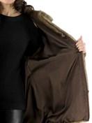 Demibuff Mink Zipper Jacket witih Ranch Mink Inserts