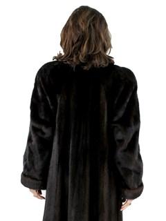 Woman's Louis Feraud Ranch Female Mink Fur Coat