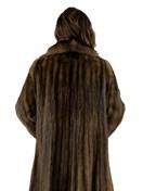 Natural Russian Sable Coat