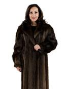 Medium Tone Beaver Coat