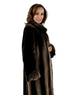 Woman's Phantom Sheared Beaver Fur Coat