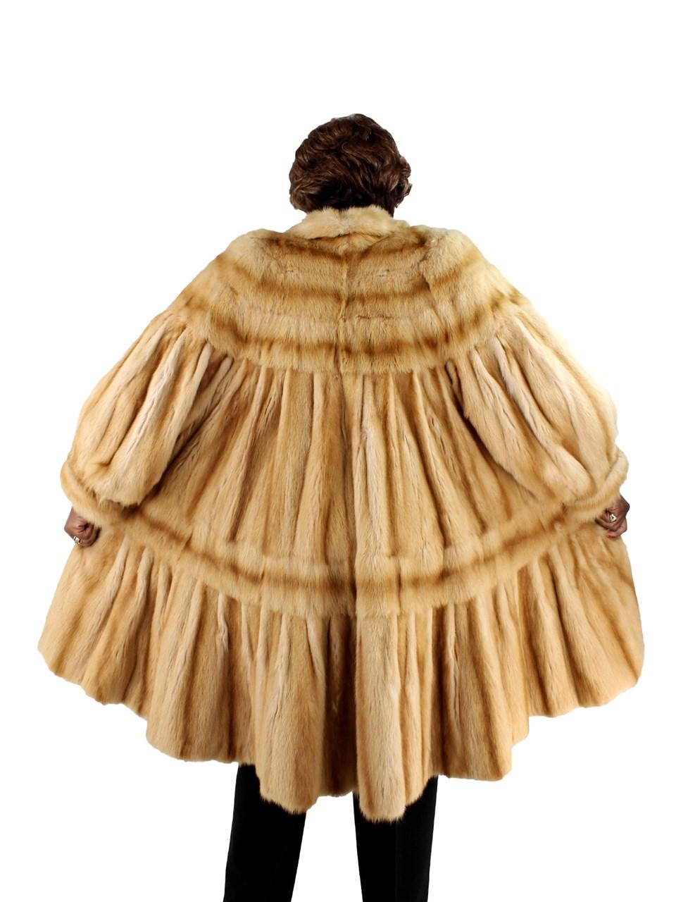 Teso Golden Kilinsky Coat Tiered Design