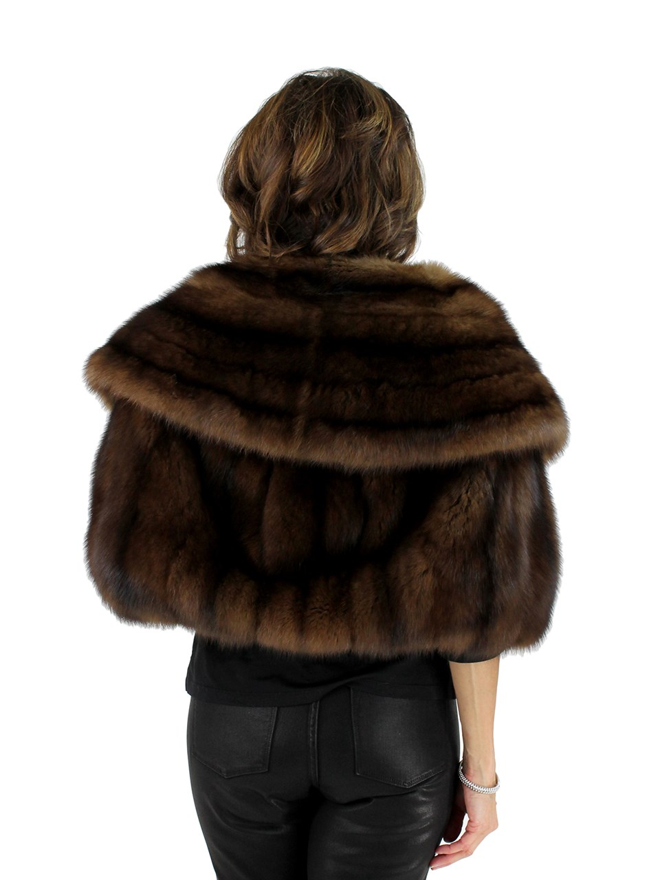 Natural Sable Stole