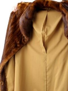 Woman's Whiskey Directional Female Mink Fur Stroller