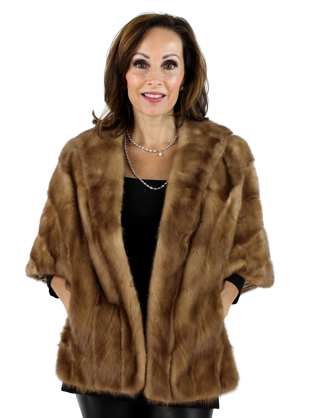 Woman's Autumn Haze Mink Fur Stole
