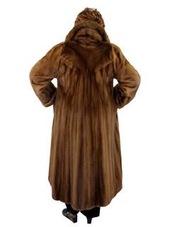 Woman's Lunaraine Mink Fur Coat