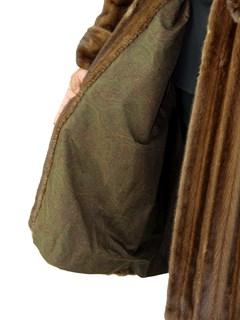 Woman's Demi Buff Female Mink Fur Coat