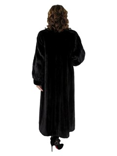 Women's Christian Dior Ranch Mink Fur Coat