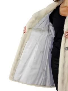 Woman's Azurene Female Mink Fur Stroller