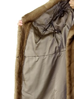 Woman's Vintage Autumn Haze Female Mink Fur Jacket