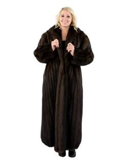 Woman's Natural Fisher Fur Coat