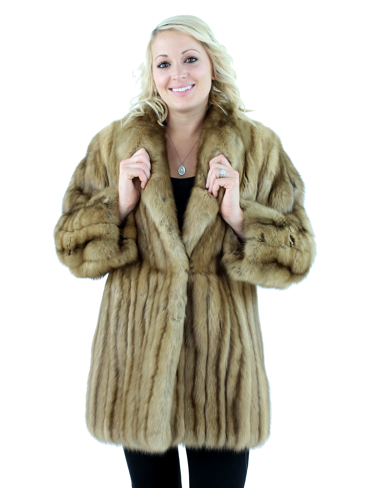 Woman's Canadian Sable Fur Jacket