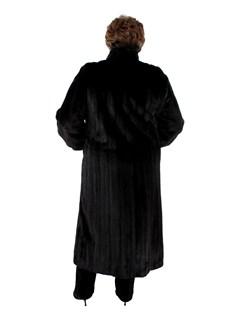 Woman's Plus Size Ranch Female Mink Fur Coat