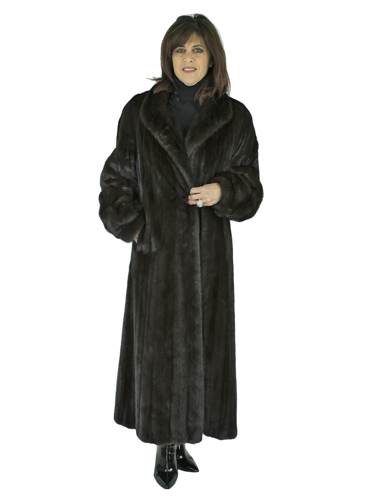Woman's Ranch Female Mink Coat