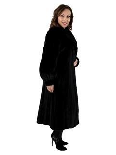 Woman's Ranch Female Mink Fur Coat