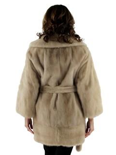 Woman's Azurene Mink Fur Jacket
