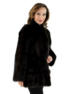 Woman's Ranch Mink Fur Jacket