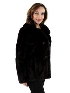 Women's Ranch Female Mink Fur Jacket
