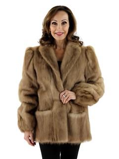 Women's Autumn Haze Mink Fur Jacket