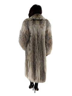 Woman's Canadian Lynx Fur Coat