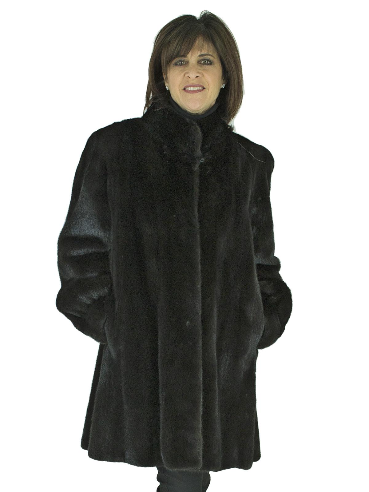 Woman's Blackglama Ranch Mink Fur Stroller