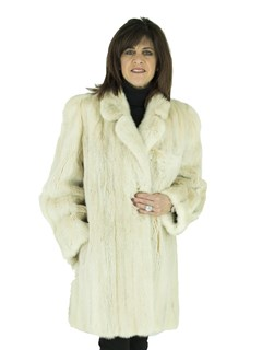 Woman's Blush Female Mink Fur Stroller