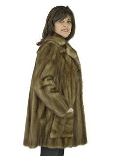 Woman's Lunaraine Female Mink Fur Jacket