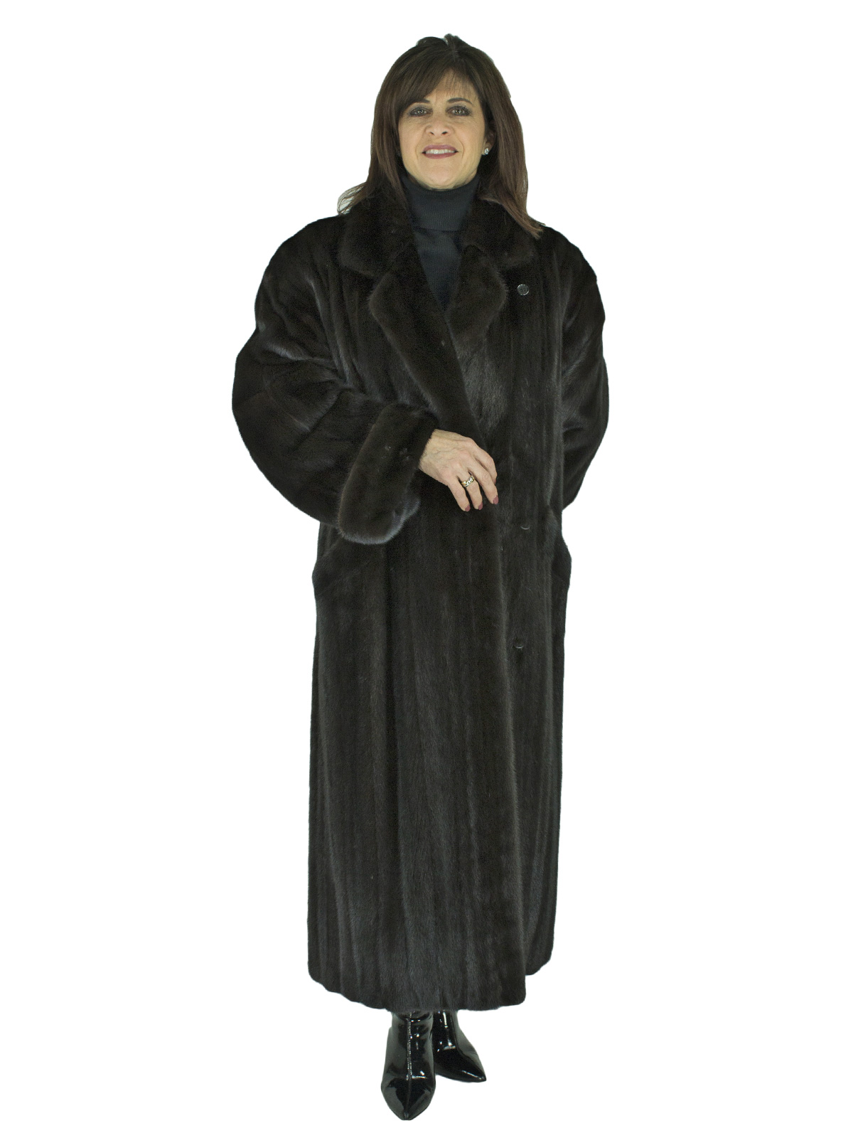 Woman's Female Ranch Mink Coat