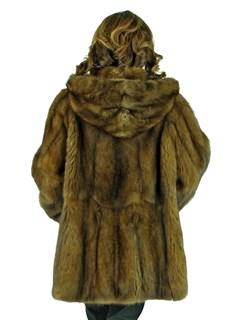 Woman's Sable Fur Parka