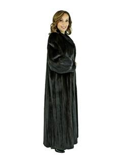 Woman's Female Ranch Mink Fur Coat