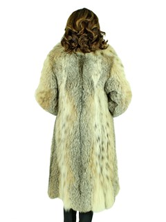 Woman's Canadian Lynx Fur 7/8 Coat