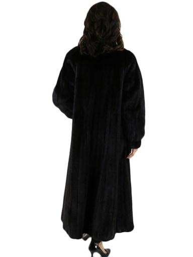 Ranch Mink Fur Coat Female Skins