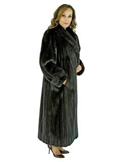 Woman's Scaasi Ranch Female Mink Fur Coat