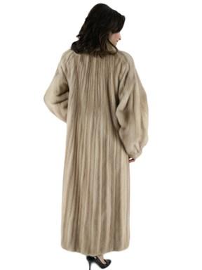 Fawn Female Mink Fur Coat
