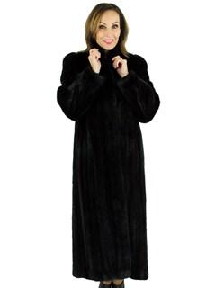 Woman's Ranch Mink Fur Coat